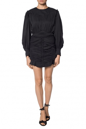 Draped dress with ruffle od Isabel Marant